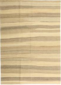 Kilim Moderno Alfombra 165X235 Moderna Tejida A Mano Beige/Beige Oscuro (Lana, Persia/Irán)