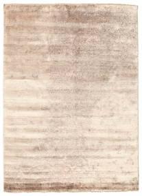 Damask Alfombra 175X240 Moderna Hecha A Mano Blanco/Crema/Marrón Oscuro ( India)