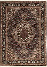 Tabriz 40 Raj Alfombra 107X149 Oriental Hecha A Mano Rojo Oscuro/Marrón Oscuro (Lana/Seda, Persia/Irán)