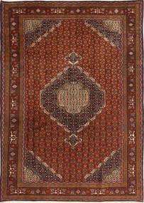 Ardabil Alfombra 195X275 Oriental Hecha A Mano Rojo Oscuro/Marrón (Lana, Persia/Irán)