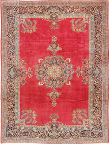 Keshan Alfombra 247X330 Oriental Hecha A Mano Roja/Óxido/Roja (Lana, Persia/Irán)