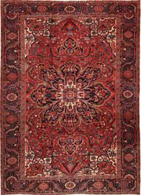 Heriz Alfombra 262X358 Oriental Hecha A Mano Rojo Oscuro/Marrón Oscuro Grande (Lana, Persia/Irán)