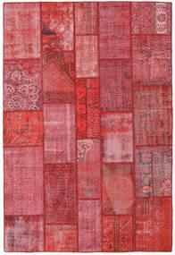 Patchwork Alfombra 201X300 Moderna Hecha A Mano Óxido/Roja/Rosa (Lana, Turquía)