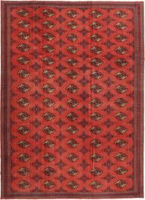 Turkaman Patina Alfombra 240X337 Oriental Hecha A Mano Rojo Oscuro/Óxido/Roja (Lana, Persia/Irán)