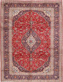 Keshan Alfombra 300X385 Oriental Hecha A Mano Marrón/Rojo Oscuro Grande (Lana, Persia/Irán)