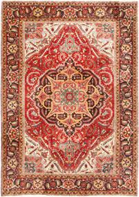 Heriz Alfombra 232X330 Oriental Hecha A Mano Óxido/Roja/Marrón Oscuro (Lana, Persia/Irán)