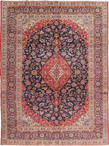 Keshan Signature : Kashan Ghotbi Alfombra 295X395 Oriental Hecha A Mano Óxido/Roja/Púrpura Oscuro Grande (Lana, Persia/Irán)