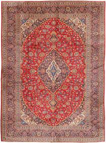 Keshan Alfombra 290X400 Oriental Hecha A Mano Rojo Oscuro/Óxido/Roja Grande (Lana, Persia/Irán)