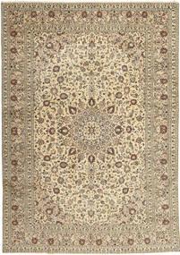 Keshan Alfombra 285X408 Oriental Hecha A Mano Gris Claro/Beige Grande (Lana, Persia/Irán)