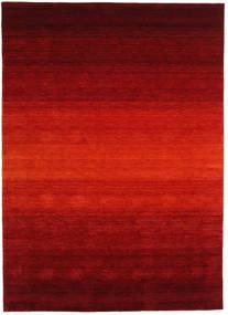 Gabbeh Rainbow - Rojo Alfombra 210X290 Moderna Rojo Oscuro/Óxido/Roja (Lana, India)