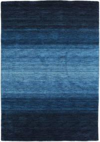 Gabbeh Rainbow - Azul Alfombra 140X200 Moderna Azul Oscuro/Azul (Lana, India)