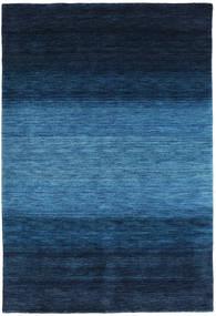 Gabbeh Rainbow - Azul Alfombra 160X230 Moderna Azul Oscuro/Azul (Lana, India)