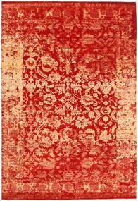 Roma Moderno Collection Alfombra 203X299 Moderna Hecha A Mano Óxido/Roja/Roja ( India)