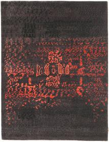 Roma Moderno Collection Alfombra 178X233 Moderna Hecha A Mano Gris Oscuro/Marrón Oscuro ( India)
