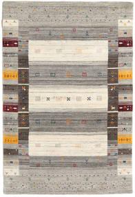 Loribaf Loom Designer Alfombra 120X180 Moderna Gris Claro/Beige (Lana, India)