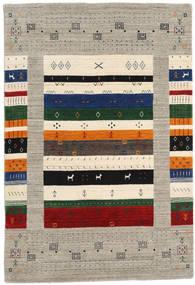 Loribaf Loom Designer - Gris/Multi Alfombra 120X180 Moderna Gris Claro/Beige (Lana, India)
