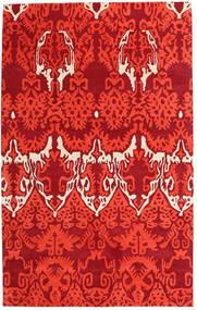 Handtufted Alfombra 153X246 Moderna Roja (Lana, India)