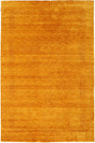 Loribaf Loom Beta - Dorado Alfombra 190X290 Moderna Naranja/Marrón Claro (Lana, India)