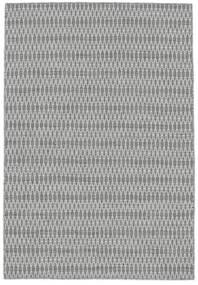 Kilim Long Stitch - Gris Alfombra 140X200 Moderna Tejida A Mano Gris Claro/Blanco/Crema (Lana, India)