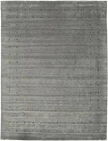 Loribaf Loom Delta - Gris Alfombra 290X390 Moderna Gris Oscuro/Gris Claro Grande (Lana, India)