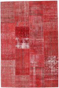Patchwork Alfombra 202X303 Moderna Hecha A Mano Óxido/Roja/Rojo Oscuro (Lana, Turquía)