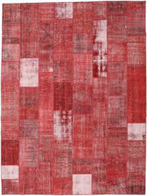 Patchwork Alfombra 303X403 Moderna Hecha A Mano Óxido/Roja/Rojo Oscuro Grande (Lana, Turquía)