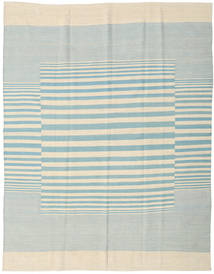 Kilim Moderno Alfombra 181X230 Moderna Hecha A Mano Beige/Azul Turquesa (Lana, India)