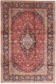 Keshan Alfombra 200X300 Oriental Hecha A Mano Rojo Oscuro/Marrón Oscuro (Lana, Persia/Irán)