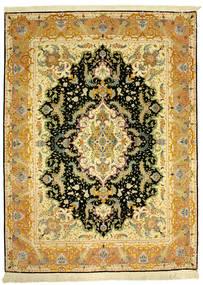 Tabriz 70Raj Silke Varp Alfombra 152X205 Oriental Hecha A Mano (Lana/Seda, Persia/Irán)