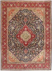 Tabriz Patina Alfombra 292X400 Oriental Hecha A Mano Marrón Oscuro/Rojo Oscuro Grande (Lana, Persia/Irán)