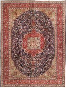 Tabriz Patina Alfombra 292X385 Oriental Hecha A Mano Rojo Oscuro/Marrón Oscuro Grande (Lana, Persia/Irán)