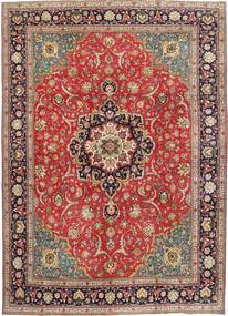 Tabriz Patina Alfombra 290X397 Oriental Hecha A Mano Óxido/Roja/Rojo Oscuro Grande (Lana, Persia/Irán)