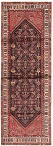 Hamadan Alfombra 100X300 Oriental Hecha A Mano Rojo Oscuro/Beige (Lana, Persia/Irán)