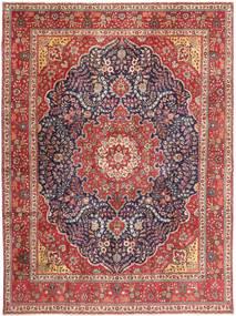 Tabriz Patina Alfombra 295X390 Oriental Hecha A Mano Rojo Oscuro/Marrón Grande (Lana, Persia/Irán)