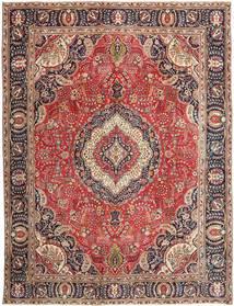 Tabriz Patina Alfombra 288X375 Oriental Hecha A Mano Rojo Oscuro/Óxido/Roja Grande (Lana, Persia/Irán)