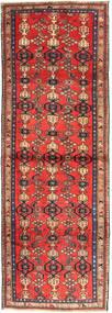 Zanjan Alfombra 102X300 Oriental Hecha A Mano Rojo Oscuro/Marrón Oscuro (Lana, Persia/Irán)