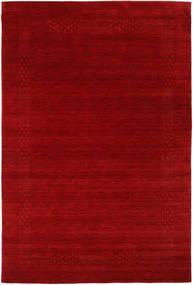 Loribaf Loom Beta - Rojo Alfombra 190X290 Moderna Rojo Oscuro/Óxido/Roja (Lana, India)