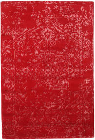 Orient Express - Rojo Alfombra 140X200 Moderna Hecha A Mano Roja (Lana/Seda De Bambú, India)