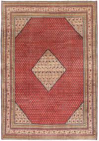 Sarough Patina Alfombra 217X310 Oriental Hecha A Mano Rojo Oscuro/Óxido/Roja (Lana, Persia/Irán)