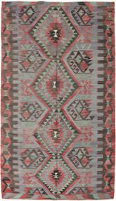 Kilim Turquía Alfombra 170X293 Oriental Tejida A Mano Gris Oscuro/Marrón (Lana, Turquía)