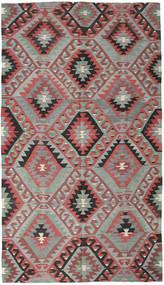 Kilim Turquía Alfombra 177X308 Oriental Tejida A Mano Gris Claro/Negro (Lana, Turquía)