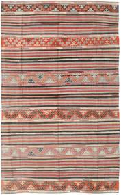 Kilim Turquía Alfombra 164X258 Oriental Tejida A Mano Gris Claro/Marrón Claro (Lana, Turquía)