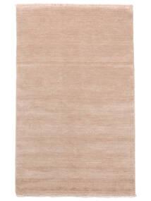 Handloom Fringes - Rosa Claro Alfombra 160X230 Moderna Rosa Claro/Beige (Lana, India)