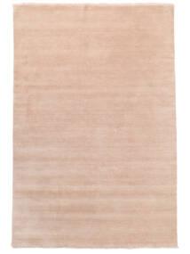 Handloom Fringes - Rosa Claro Alfombra 200X300 Moderna Rosa Claro/Beige (Lana, India)
