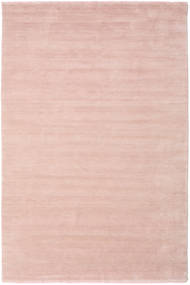 Handloom Fringes - Rosa Claro Alfombra 300X400 Moderna Rosa Claro/Beige Grande (Lana, India)