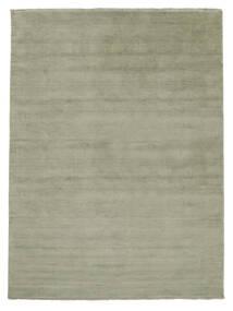 Handloom Fringes - Soft Teal Alfombra 200X300 Moderna Verde Claro/Gris Oscuro (Lana, India)