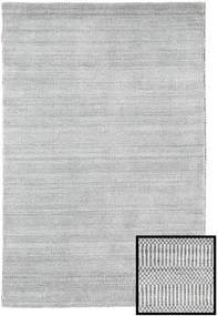 Bambú Grass - Gris Alfombra 120X180 Moderna Gris Claro/Beige (Lana/Seda De Bambú, Turquía)