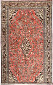 Hamadan Alfombra 313X532 Oriental Hecha A Mano Rojo Oscuro/Marrón Claro Grande (Lana, Persia/Irán)