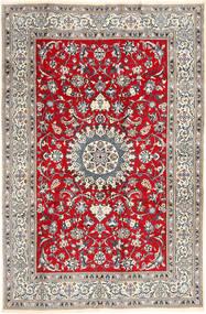 Nain Alfombra 196X297 Oriental Hecha A Mano Gris Claro/Marrón (Lana, Persia/Irán)