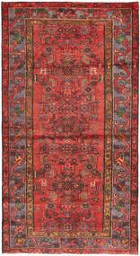 Hamadan Alfombra 108X207 Oriental Hecha A Mano Rojo Oscuro/Óxido/Roja (Lana, Persia/Irán)